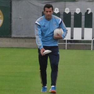 Alberto Valentim Treino Palmeiras (Foto: André Guerreiro)