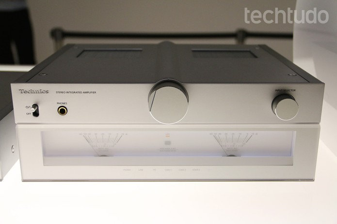 Technics Panasonic (Foto: Fabrício Vitorino/TechTudo)