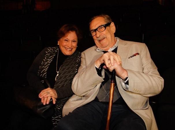 Nicette e Paulo Goulart, com quem foi casada durante 60 anos (Foto: Foto: Ego)