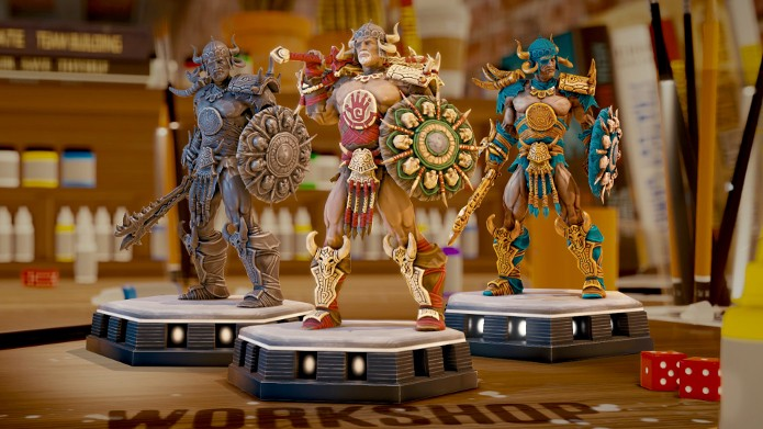 Personalizar as suas miniaturas é a parte mais divertida de Might and Magic Showdown (Foto: Divulgação/Ubisoft)