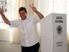 Duarte Nogueira (PSDB) vota em Ribeirão Preto, SP