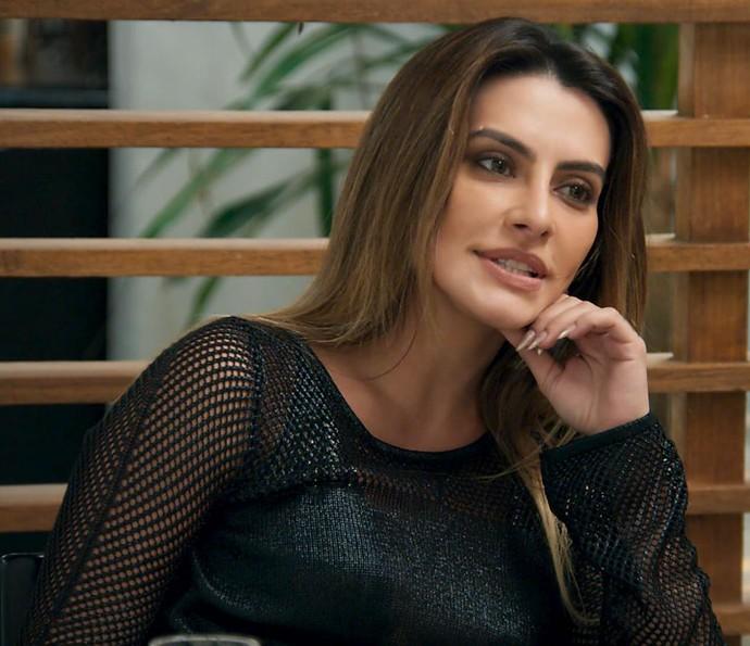 Tamara pede a Adriana para voltar a correr pela Mercúrio (Foto: TV Globo)