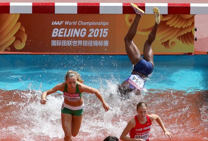 Rolanda Bell atletismo obstáculos (Foto: Getty Images)