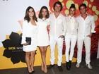 Giovanna Lancellotti e outros famosos vão a festival de música