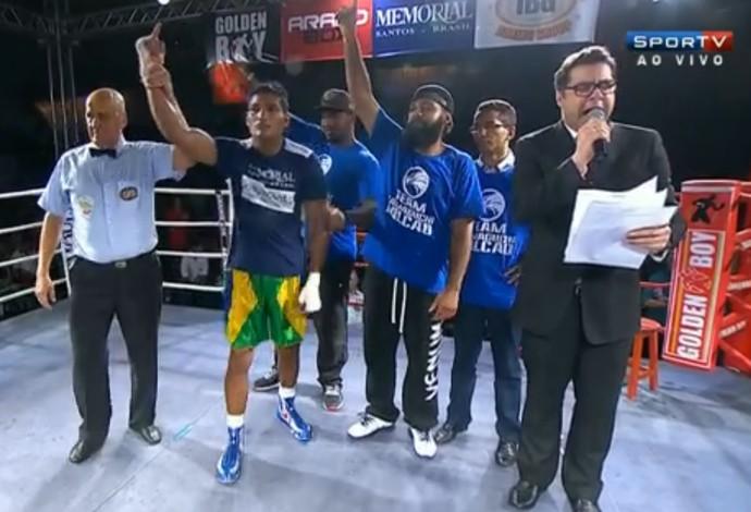 FRAME - Yamaguchi Falcão Martin Rios boxe (Foto: Reprodução SporTV)
