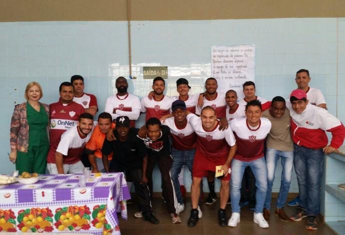 Dose extra de inspiração  CAP visita alunos da Apae em Patrocínio a50307bb64ade