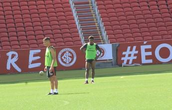 Em treino sem Anderson, Lisca testa Ceará na lateral esquerda
