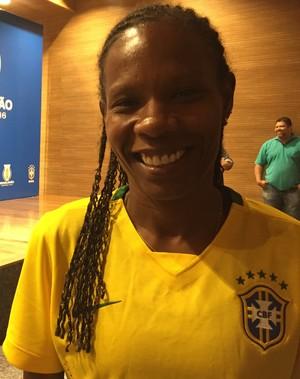 Formiga fala sobre integrar comitê da CBF (Foto: Cíntia Barlem)