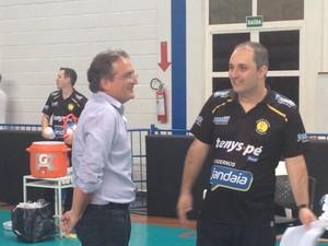 Ricardo Picinin, Superliga, Praia Clube, treinador, técnico (Foto: Gullit Castro)