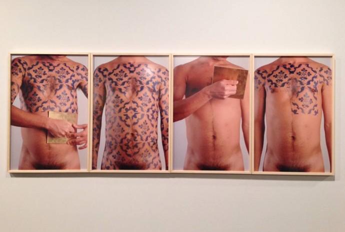 Trabalho de Daniel Toledo, 'O corpo é a casa'