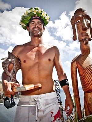 Saltos Orlando Duque campeão na Ilha de Páscoa (Foto: Divulgação)