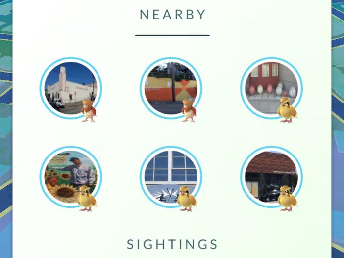 Nova forma de busca em Pokémon Go está na fase de testes (Foto: Reprodução/Business Insider)