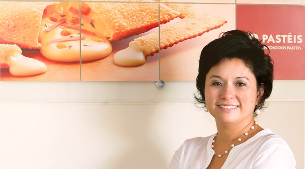 A empreendedora Vera Nagano, da rede 10 Pastéis  (Foto: Divulgação)