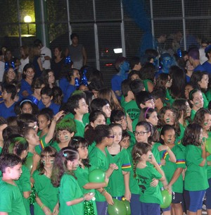 Cerca de 500 crianças já passaram pelas turmas de Nanda Garcia (Foto: The Voice Brasil)