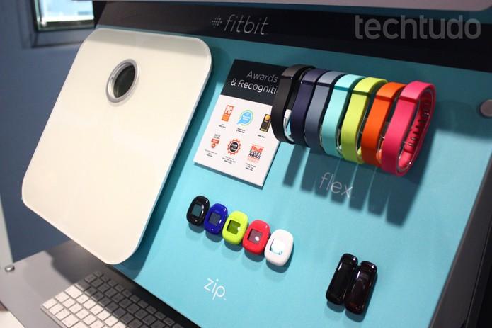 O Fitbit  (Foto: Allan Melo/ TechTudo)