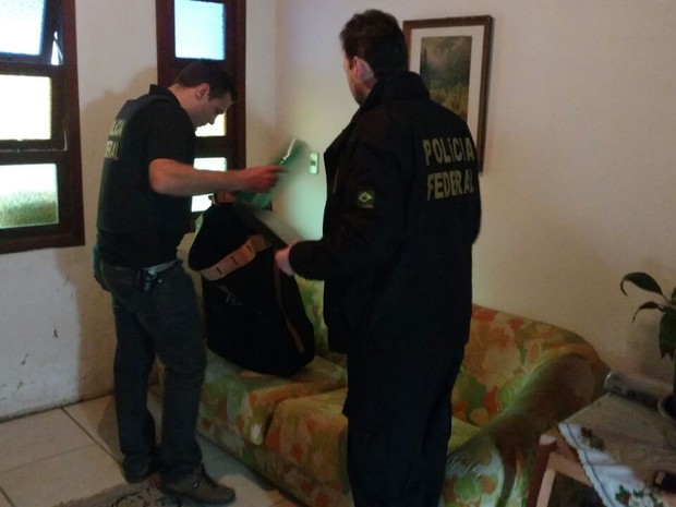Operação, Polícia Federal, fraude, estelionato, urnas eletrônicas, Xangri-Lá, Canoas (Foto: Divulgação/PF)