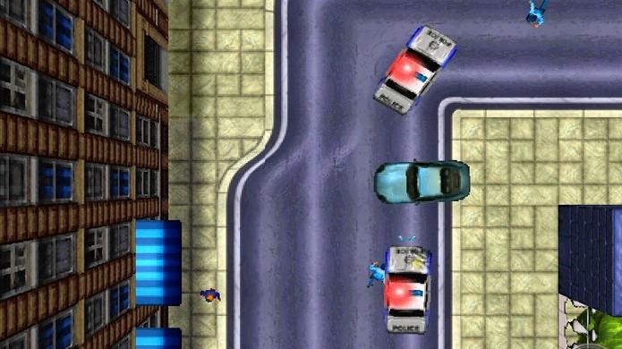 GTA é um dos mais famosos jogos de carro do PlayStation One (Foto: Geek Addict)