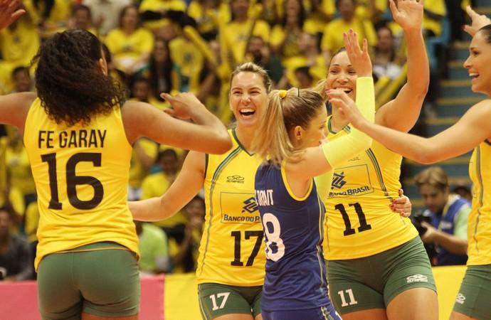 Brasil x Russia Grand Prix Ibirapuera (Foto: Divulgação/FIVB)