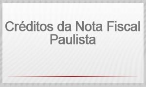 Créditos da Nota Fiscal Paulista (Foto: G1)