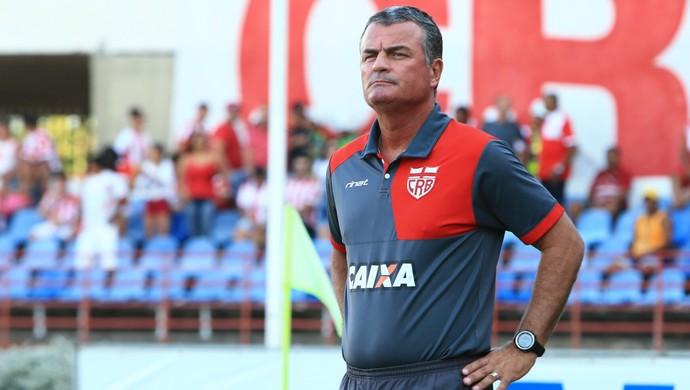 Mazola Junior, técnico do CRB (Foto: Ailton Cruz/Gazeta de Alagoas)