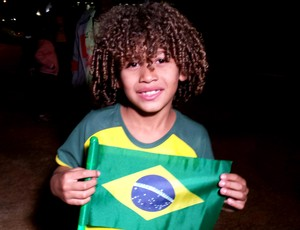Torcedor Fã David Luiz  (Foto: Marco Astoni)