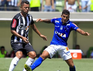 Rafael Carioca, Lucas Romero, Atlético-MG x Cruzeiro (Foto: Washington Alves/ Lightpress)