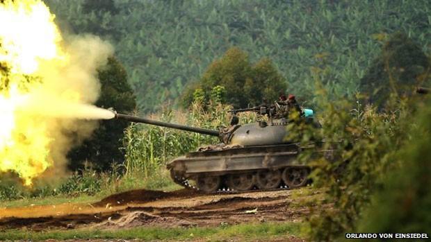 Forças armadas do Congo protegem área do parque de invasão de milícia  (Foto: Orlando von Einsiedel)