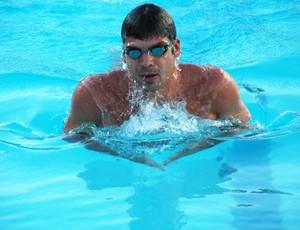 kaio márcio, nadador, nadador olímpico, trófeu maria lenk (Foto: Lucas Barros / Globoesporte.com/pb)