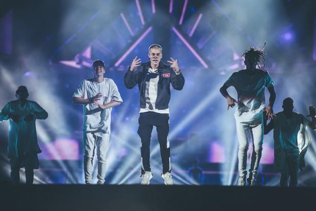 Justin Bieber (Foto: Camila Cara / T4F / Divulgação)