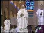 Papa usa roupa feita em fábrica do ES em sua primeira missa no Brasil