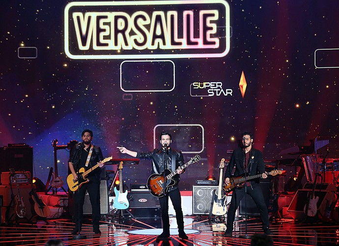 Versalle se apresenta pela segunda vez na final do SuperStar (Foto: Isabella Pinheiro/Gshow)