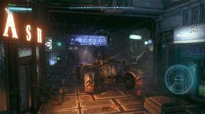 Zatanna também exibe seu comércio místico em Arkham Knight (Foto: Reprodução/Rocksteady)