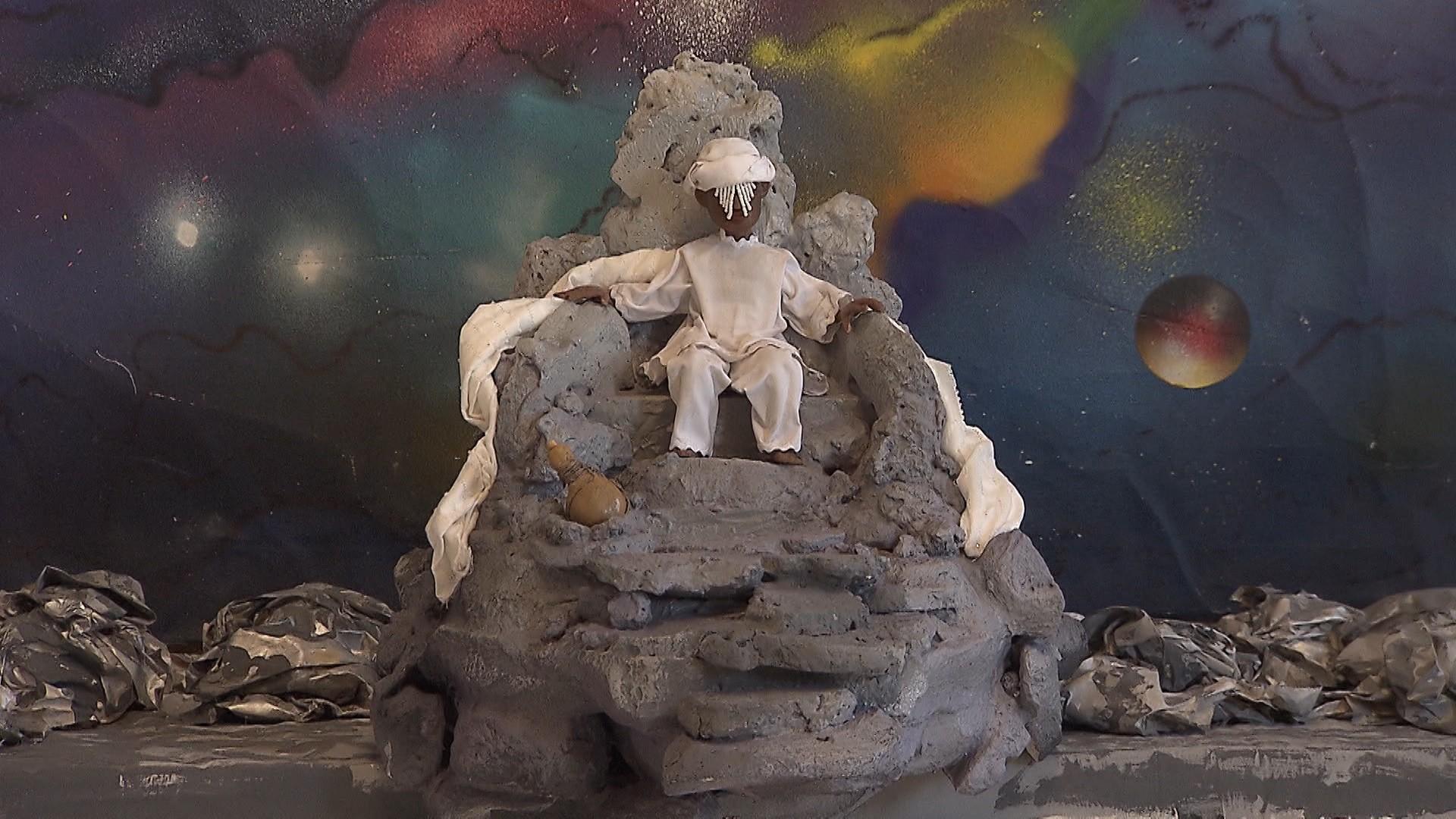 Produção baiana conta a lenda iorubá da criação do mundo (Foto: Divulgação)
