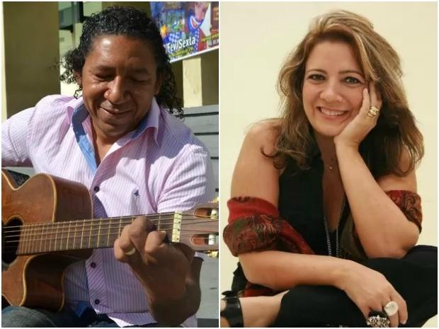 Zé Miguel, Lucinha Bastos, Conexão Amazônia, Amapá, Macapá, música, (Foto: Fabiana Figueiredo/G1; Elivaldo Pamplona/O Liberal)