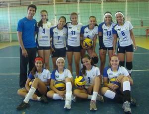 Equipe feminina da AVV (Foto: Divulgação / AVV)