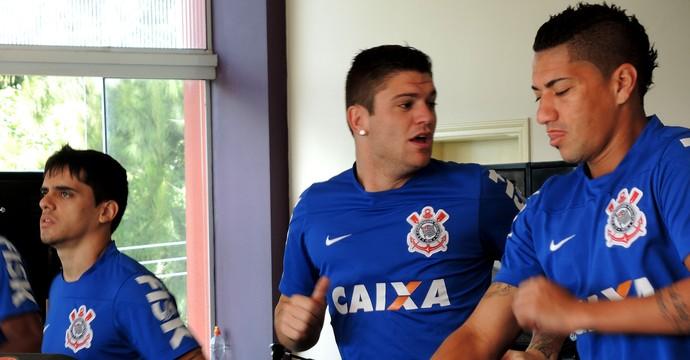 Jocinei corinthians musculação (Foto: Marcelo Braga)