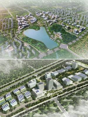 Projetos da Jurong Consultants na China (Foto: Reprodução)