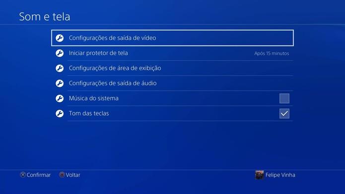Como rodar os jogos do PS4 em HDR com a atualização do console (Foto: Reprodução/Felipe Vinha)