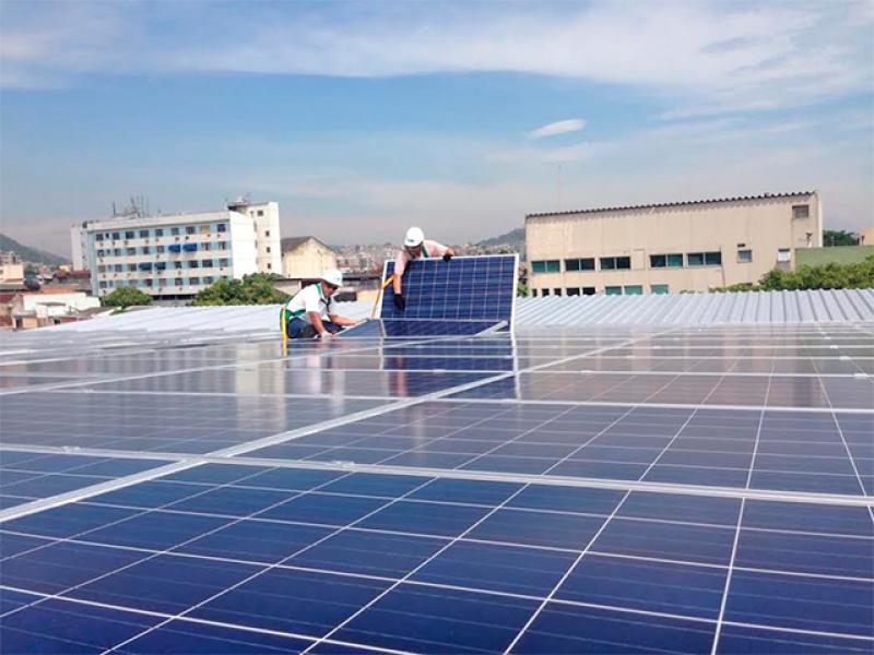 Globo Brasil vai montar painéis fotovoltaicos no país  (Foto: Globo Brasil: reprodução)