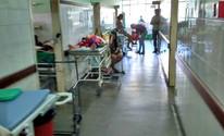 Sem leitos, pacientes esperam em corredor (Aldejane Pinto/Arquivo pessoal)
