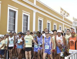 Largada da Corrida da Esperança (Foto: globoesporte.com)