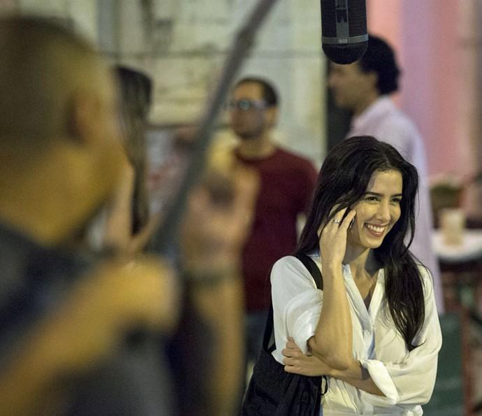 Marjorie Estiano grava primeiras cenas na pele de Beatriz em Justiça (Foto: Globo/Estevam Avellar)