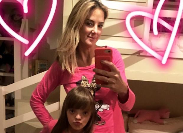 Ticiane Pinheiro e a filha, Rafaella (Foto: Reprodução/Instagram)