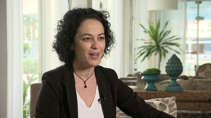 Márcia Tiburi fala sobre filosofia e feminismo (Foto: TV Bahia)