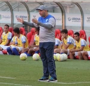 Augusto Fernandes, técnico da Cabense (Foto: Divulgação / Cabense)