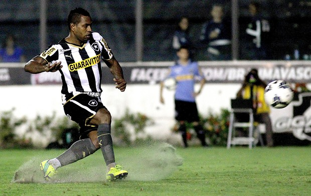 Jobson, Botafogo X Figueirense (Foto: Vitor Silva / SSpress)
