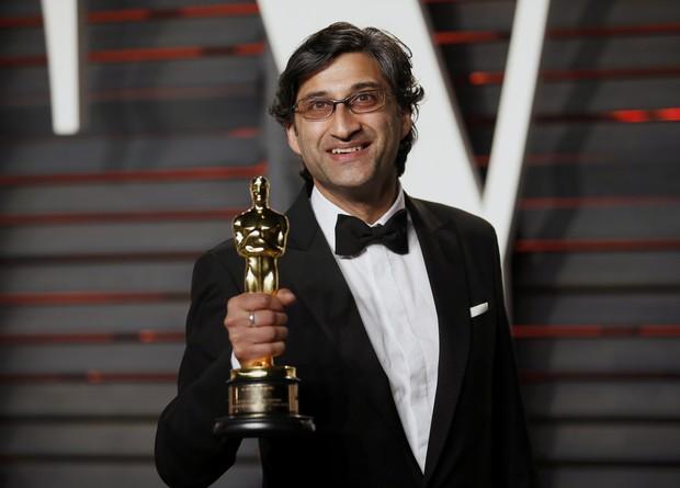 Asif Kapadia no Oscar (Foto: Reuters)
