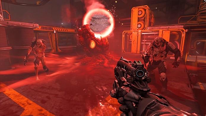A eterna pistola da série Doom está de volta no reboot para enfrentar mais demônios (Foto: Reprodução/Doom Wiki)