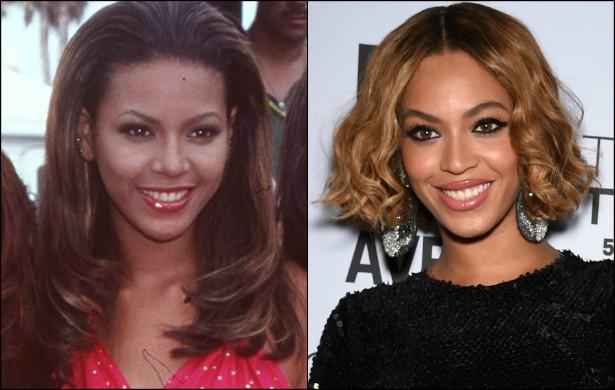 Outra fundadora do Destiny's Child, Beyoncé, evoluiu tanto de 1998 para cá que atualmente, com 33 anos, quase não lembra mais a moça que foi aos 17. (Foto: Getty Images)