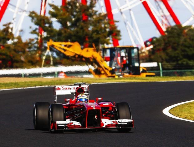 F1 Japão Ferrari Felipe Massa (Foto: EFE)